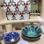 オリジナル星型鉢に絵付け体験教室 三越日本橋本店にて・・・